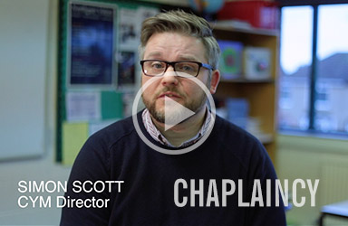 Watch the Chaplaincy video to learn more about our latest project